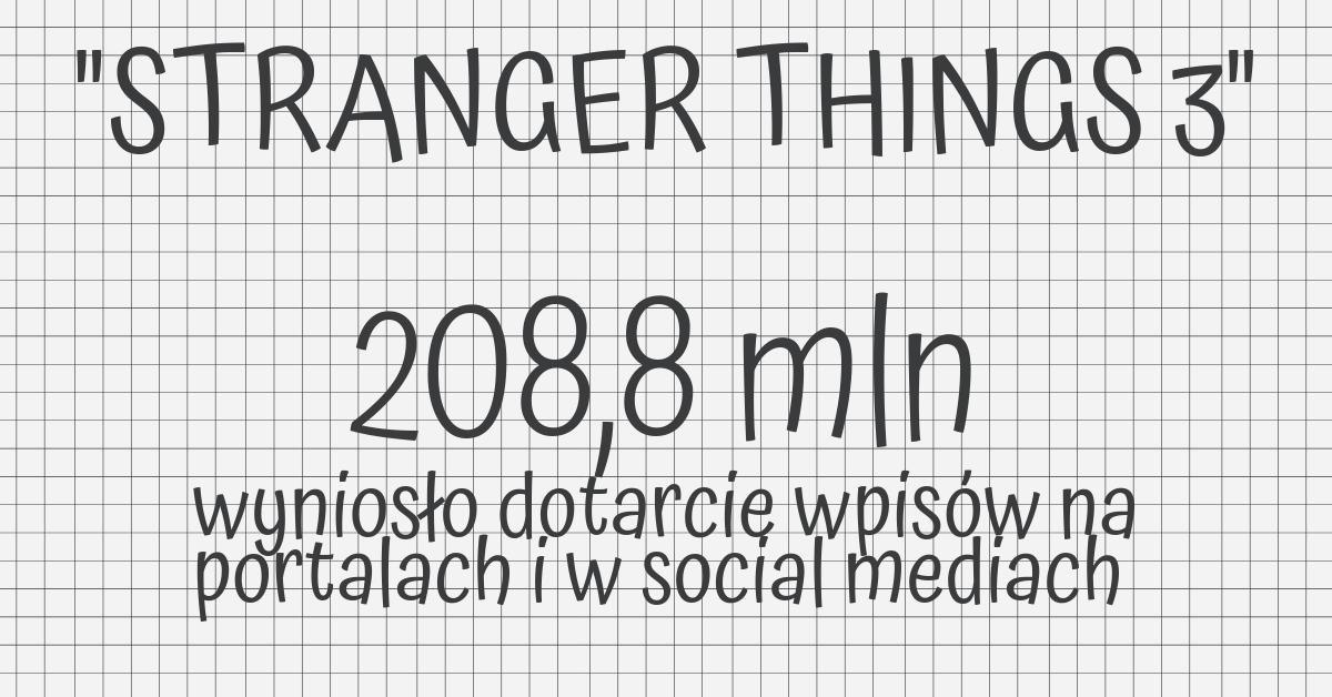 stranger things 3 dotarcie