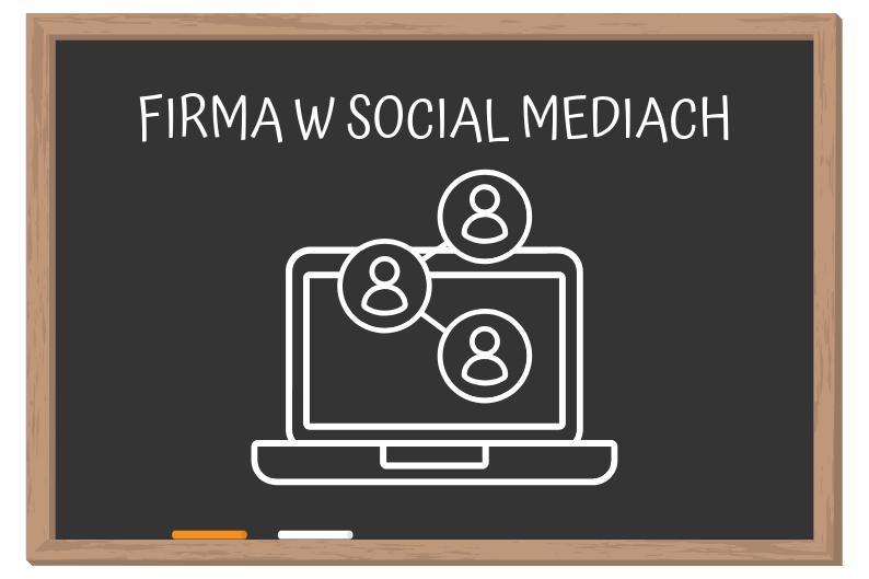 Firma w social mediach - grafika